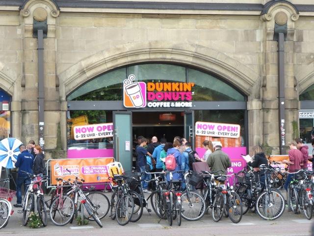Dunkin Donuts In Hamburg My German Life